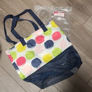 Thirty-One Mesh Mix Cinch Bag